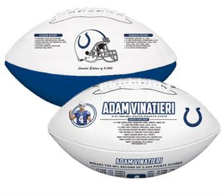 Adam Vinatieri Career Record for Points Rawlings Football