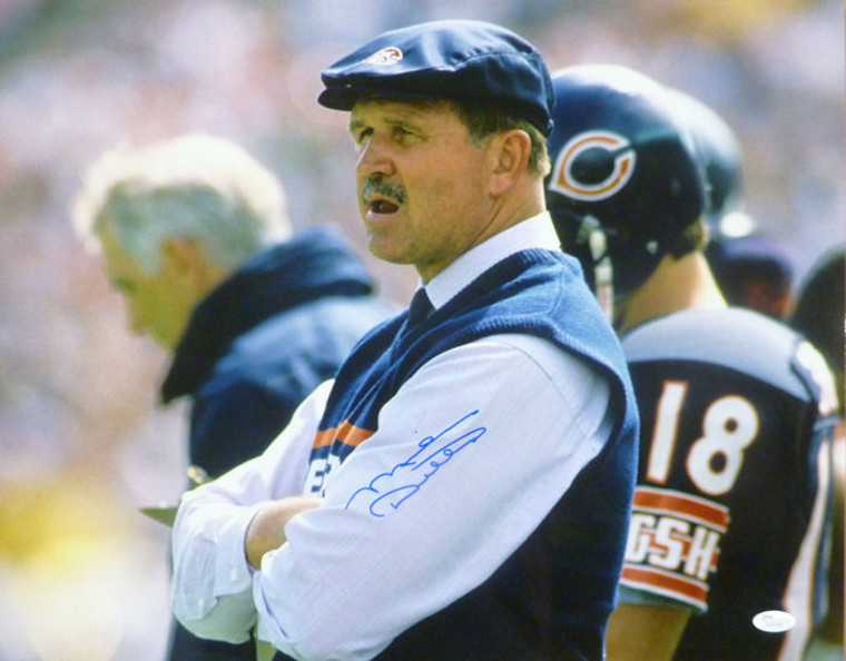 Mike Ditka Autographed 16x20 Photo - Chicago Bears Solo Coaching