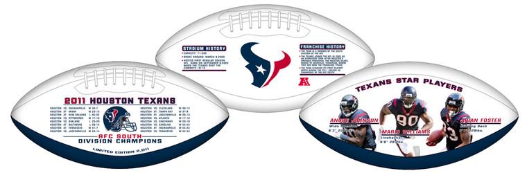 Houston Texans 2011 Division Championship Football