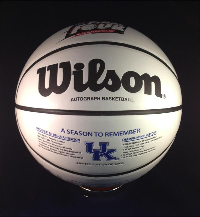 Kentucky Wildcats 2015 Undefeated Regular Season and FInal Four Basketball