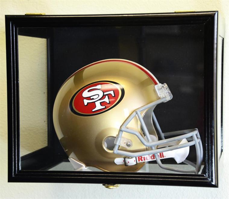 Football Helmet Display Case 98% UV Acrylic