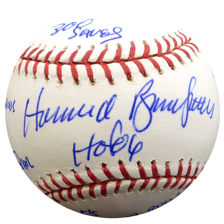 Bruce Sutter Autographed Baseball - St. Louis Cardinals Official MLB w/multiple inscriptions PSA/DNA