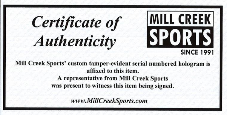 Edgar Martinez HOF Autographed Seattle Mariners White Majestic Cool Base Jersey Size XL MCS Holo