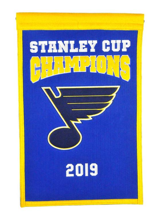St. Louis Blues Champions Banner
