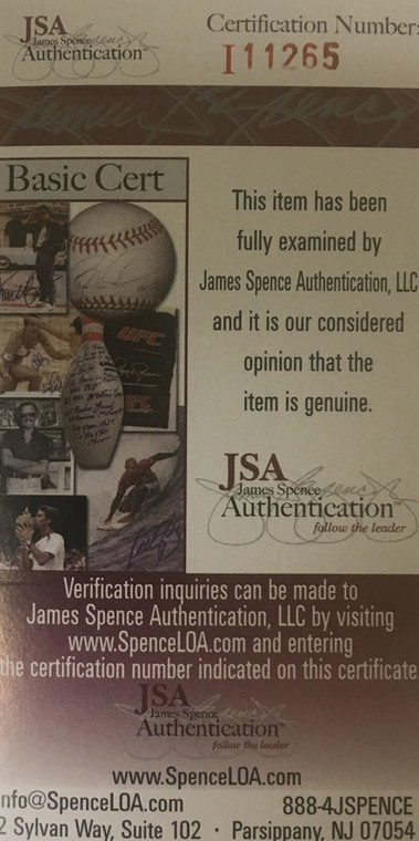 "Thomas Robinson Autographed Jersey Number ""8"" - Kansas Jayhawks ""ROCK CHALK"" JSA COA"