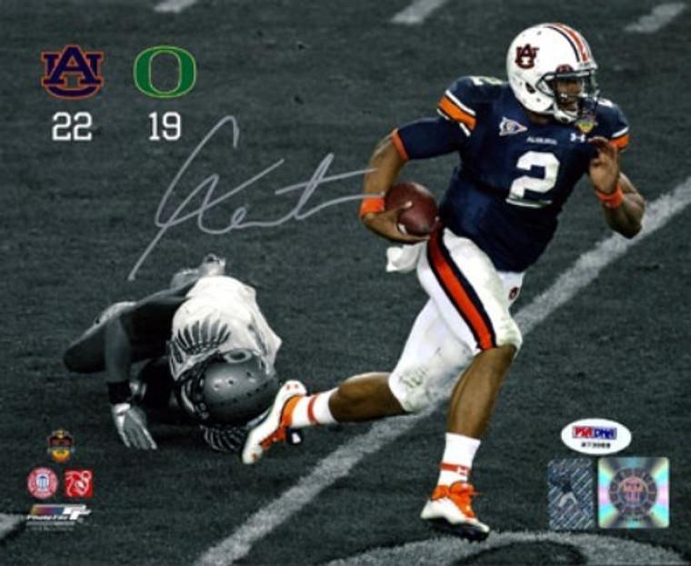 Cam Newton Autographed 8x10 Photo - Auburn Tigers PSA/DNA 2