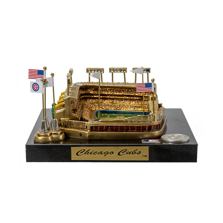 Wrigley Field - Chicago Cubs Stadium Rendition with Display Case