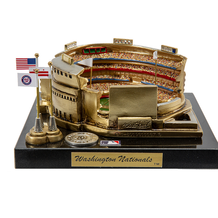 Washington Nationals Park Rendition with Display Case