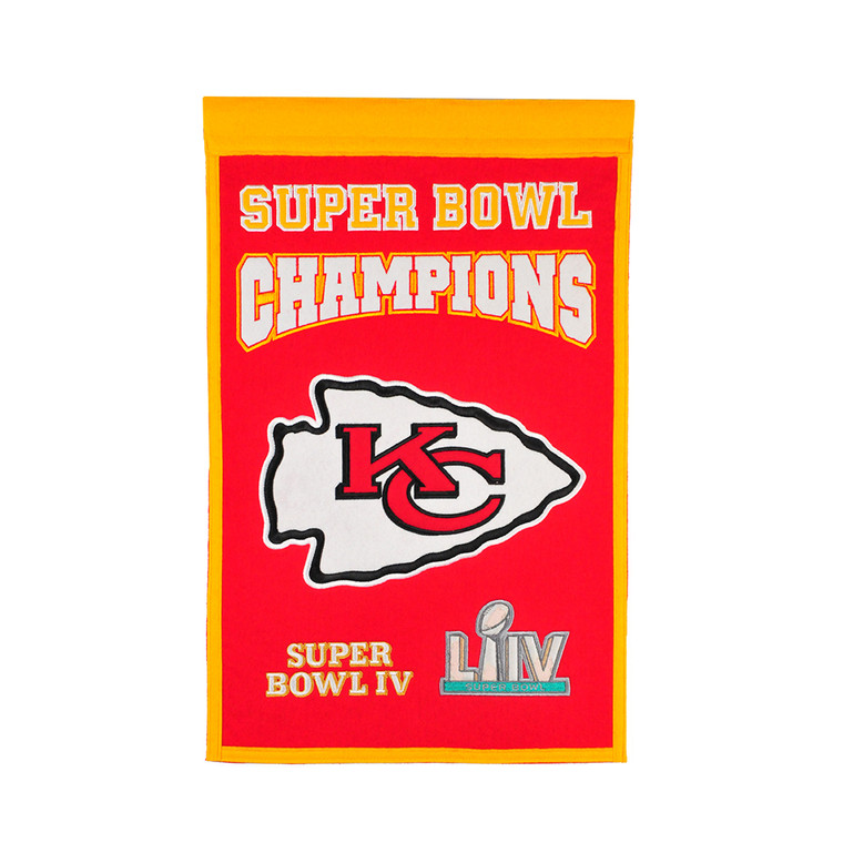 Kansas City Chiefs Champions Banner (Super Bowl LIV)