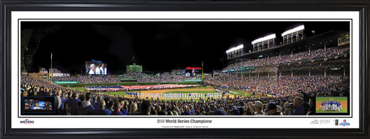 Chicago Cubs Wrigley Field Panorama - 2016 World Champions