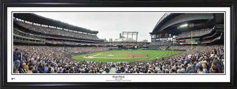 Seattle Mariners Safeco Field Panorama - First Pitch July 15, 1999
