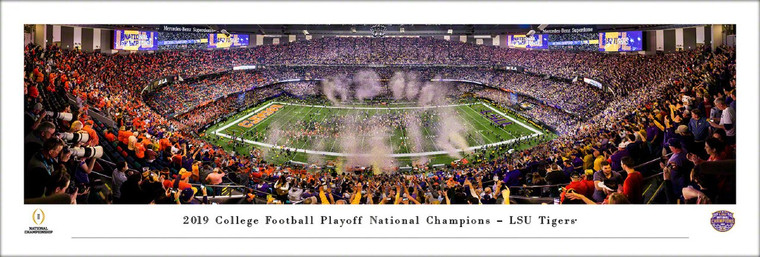 LSU Tigers Panorama 2020 National Championship Post Game