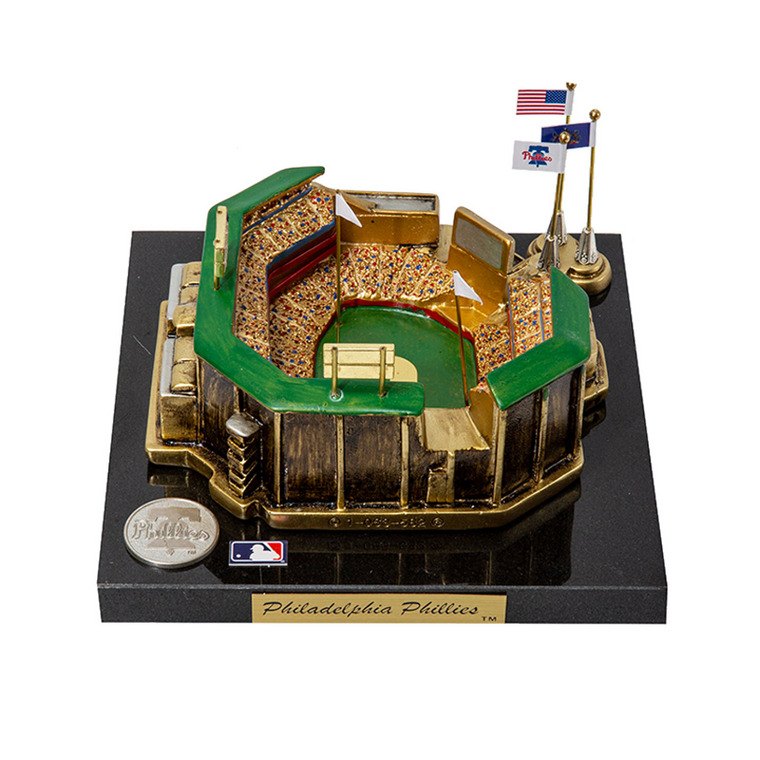 Citizens Bank Park Philadelphia Phillies - Stadium Rendition with Display Case