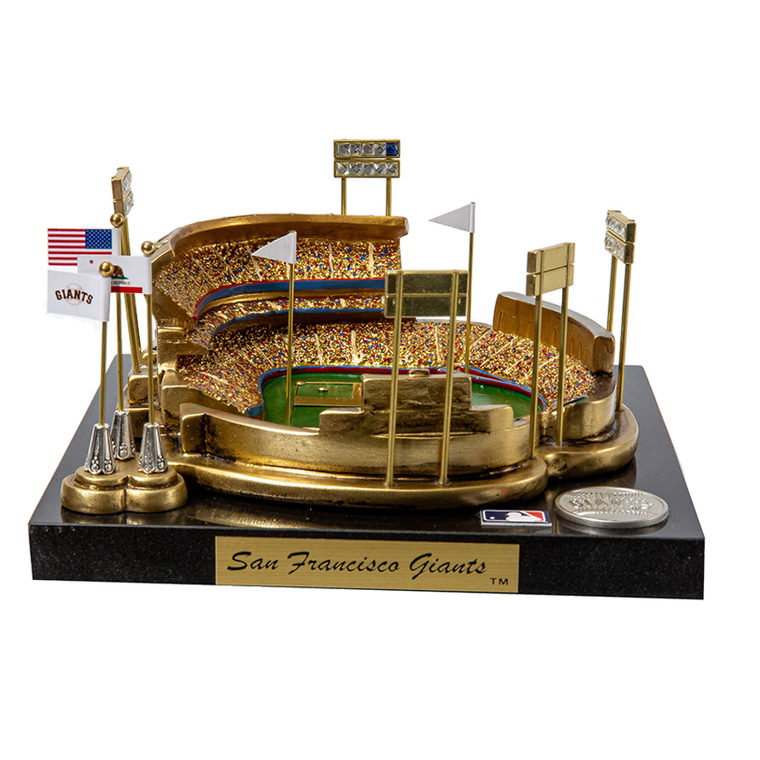Candlestick Park San Francisco Giants - Stadium Rendition with Display Case