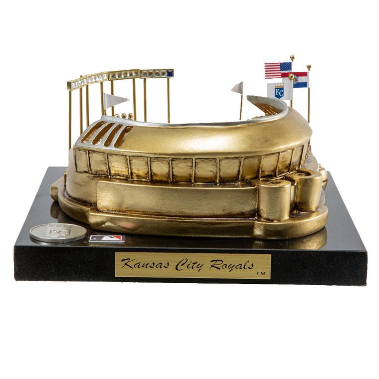 Kauffman Stadium Kansas City Royals - Stadium Rendition with Display Case