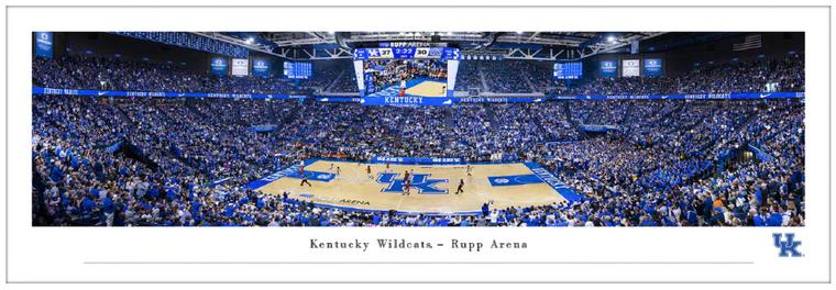 Kentucky Wildcats Rupp Arena Panorama