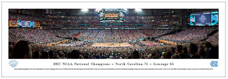 University of North Carolina 2017 NCAA Championship Panorama