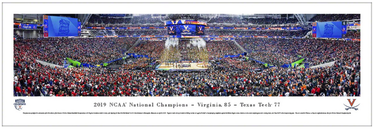 University of Virginia Cavaliers 2019 NCAA National Championship Panorama