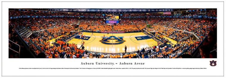 Auburn Tigers Men's Basketball - Auburn Arena Panorama