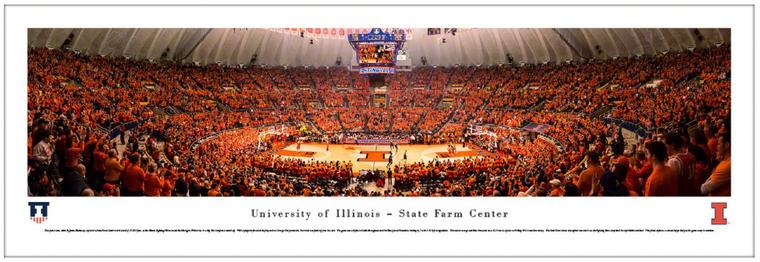 Illinois Fighting Illini - State Farm Center Panorama