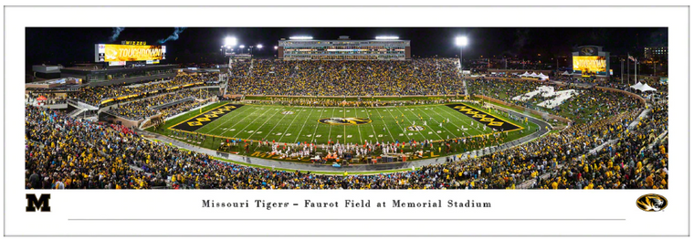Missouri Tigers Faurot Field Panorama