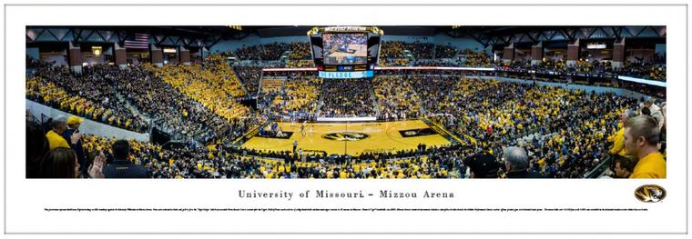 Missouri Tigers Mizzou Arena Panorama