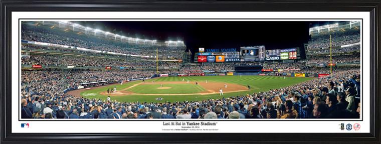 Derek Jeter Photo - New York Yankees Last at Bat at Yankee Stadium - Panorama