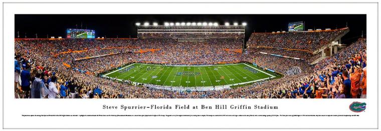 Florida Gators Football Panorama - Steve Spurrier-Florida Field at Ben Hill Griffin Stadium