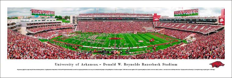 Arkansas Razorbacks Football Poster - Donald W. Reynolds Razorback Stadium