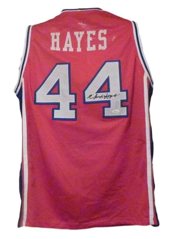 Elvin Hayes Autographed Jersey - Houston Cougars Red XL Custom