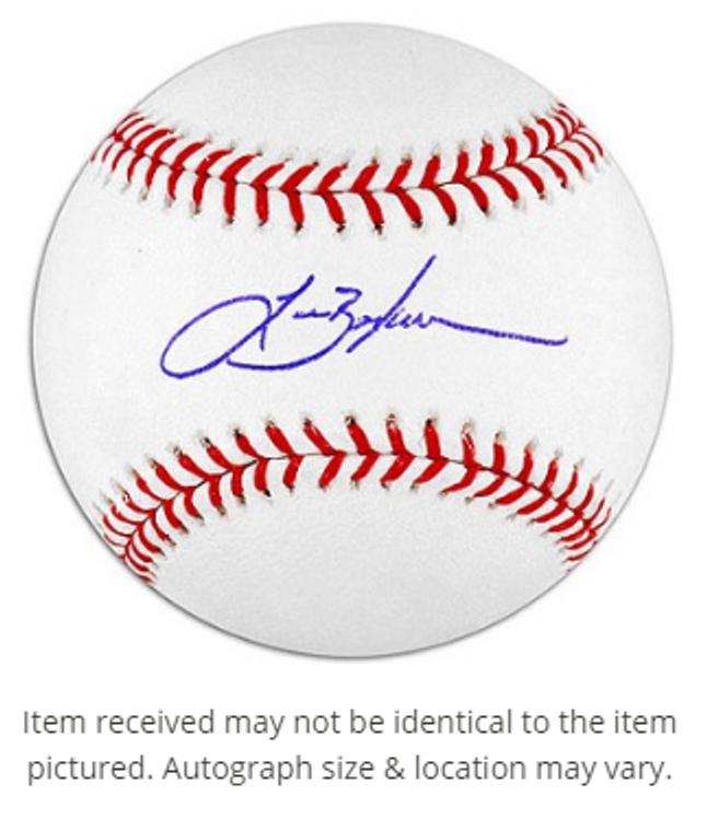 Lance Berkman Autographed Baseball - St. Louis Cardinals Rawlings OMLB