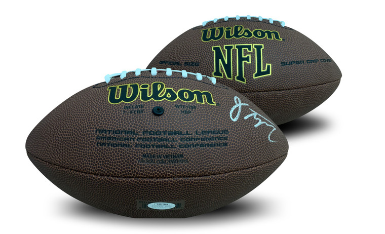 Jonathan Taylor Autographed Football - Indianapolis Colts NFL Replica Full Size JSA COA 2