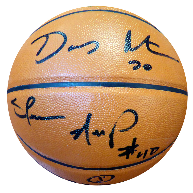 Gary Payton & Shawn Kemp Autographed Basketball - Seattle Supersonics  Spalding Indoor/Outdoor PSA/DNA
