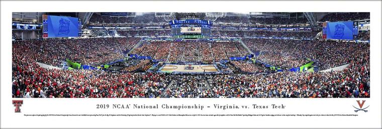 2019 NCAA Men's Basketball Championship Game - Tip-Off Panoramic Print