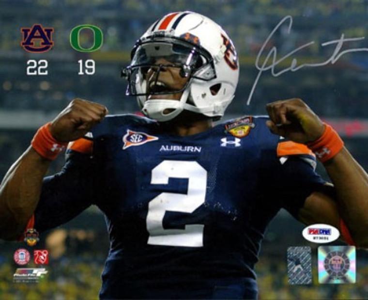 Cam Newton Autographed 8x10 Photo - Auburn Tigers  Photofile PSA/DNA