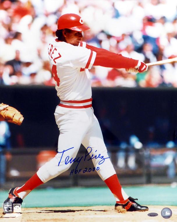 Tony Perez Autographed 16x20 Photo - Cincinnati Reds  Photofile  HOF 2000  TriStar Holo