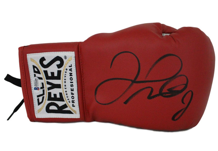 Floyd Mayweather Jr Cleto Reyes Red Signed Right Hand Boxing Glove