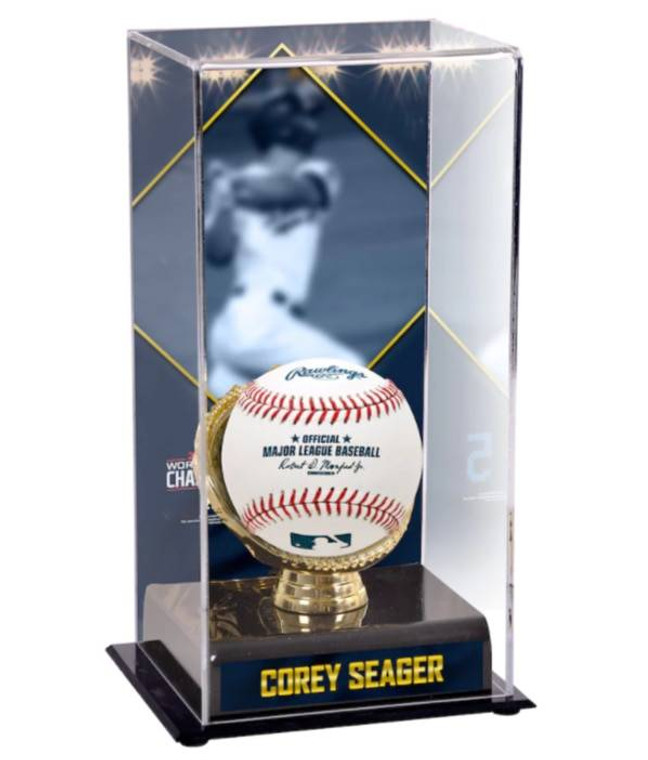Corey Seager Los Angeles Dodgers 2020 MLB World Series Champions Sublimated Display Case with Image