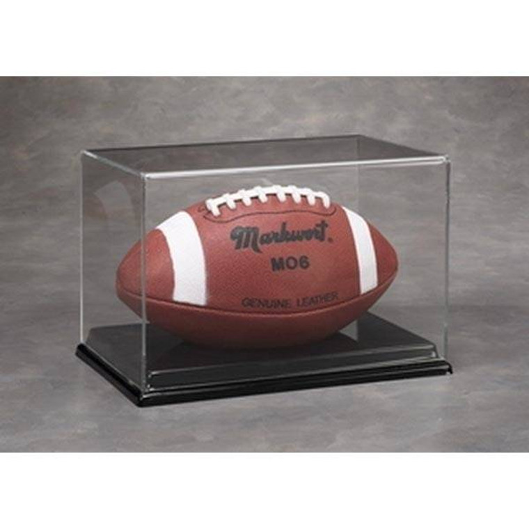 Acrylic Full Size Football Display Case - UV Protection - Miami Dolphins