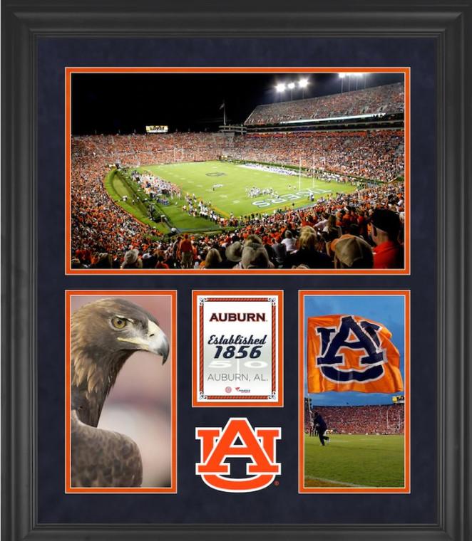 "Auburn Tigers Framed 20"" x 24"" Jordan-Hare Stadium 3-Opening Collage"