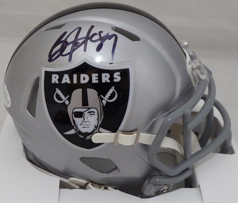 Bo Jackson Autographed/Signed Oakland Raiders Speed Mini Helmet