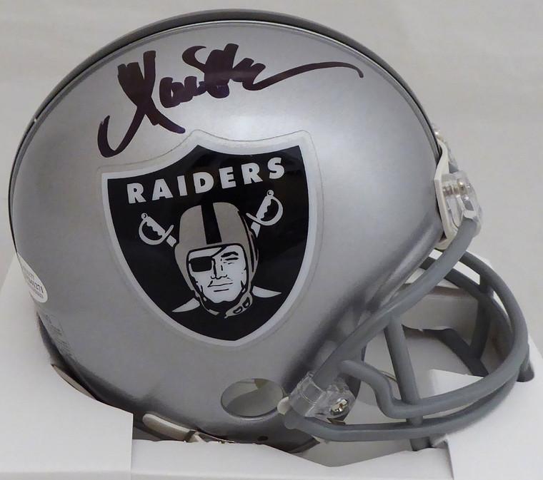 Marcus Allen Autographed/Signed Oakland Raiders Mini Helmet