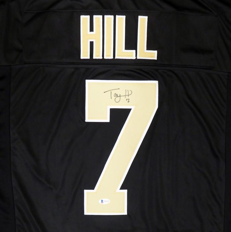 Taysom Hill New Orleans Saints Signed Black Jersey