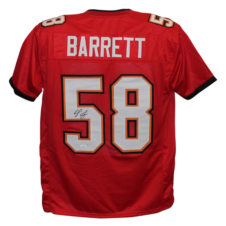 Shaquil Barrett Tampa Bay Buccaneers Autographed Pro Style Red Jersey