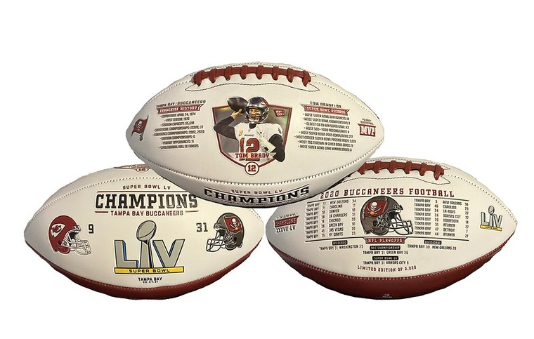 Tampa Bay Buccaneers Super Bowl LV Football Limited Edition