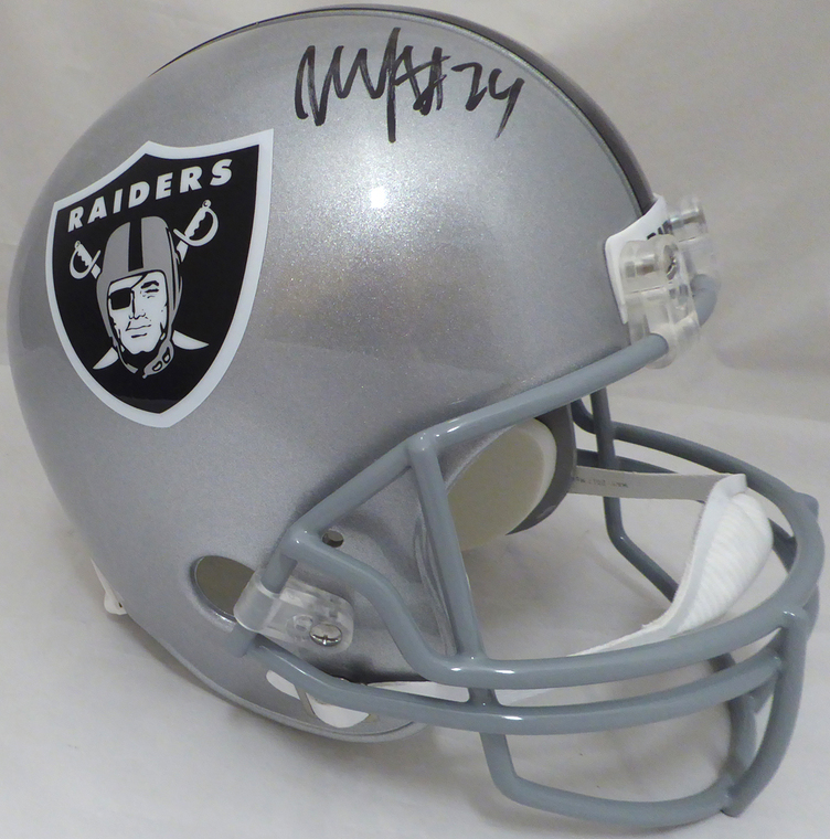 Marcus Allen Signed Oakland Raiders Full Size Speed Replica Helmet