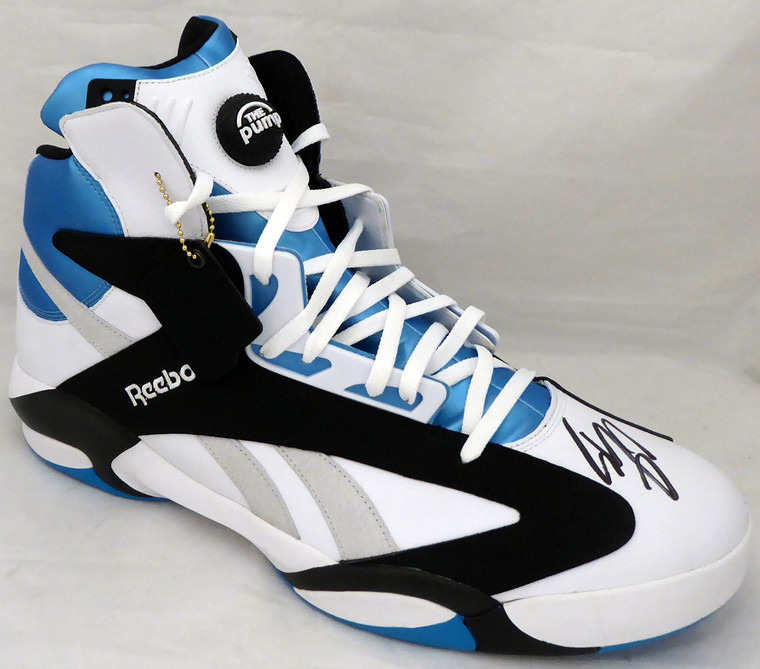Shaquille O'Neal Orlando Magic Signed Reebok Pump SHAQ Right Shoe With Box