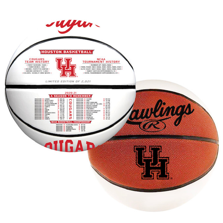 Houston Cougars NCAA Final Four Basketball Limited Edition Exclusive