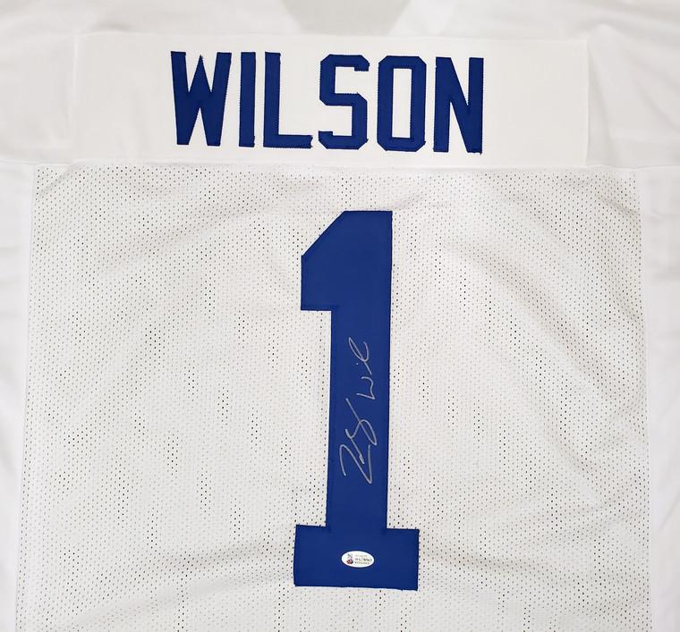 Zach Wilson BYU Cougars Signed Custom White Jersey
