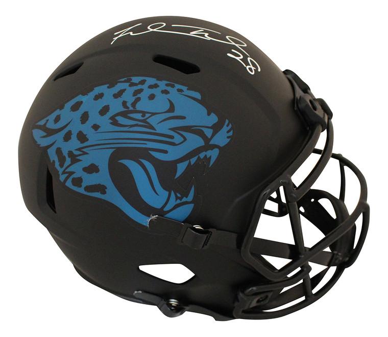 Fred Taylor Jacksonville Jaguars Signed Eclipse Speed Helmet